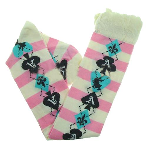 chaussettes montantes lolita