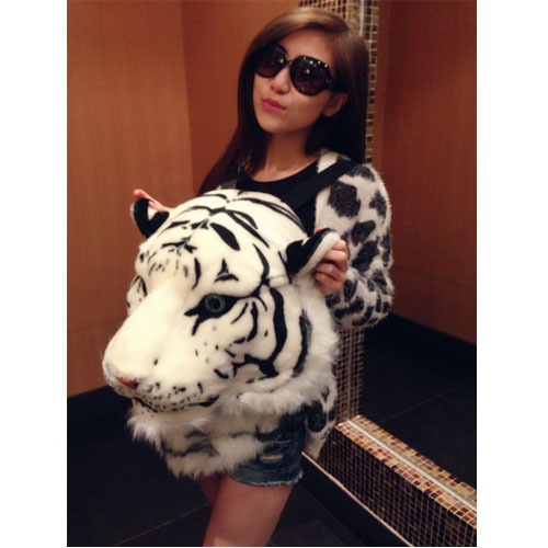 sac à dos tigre