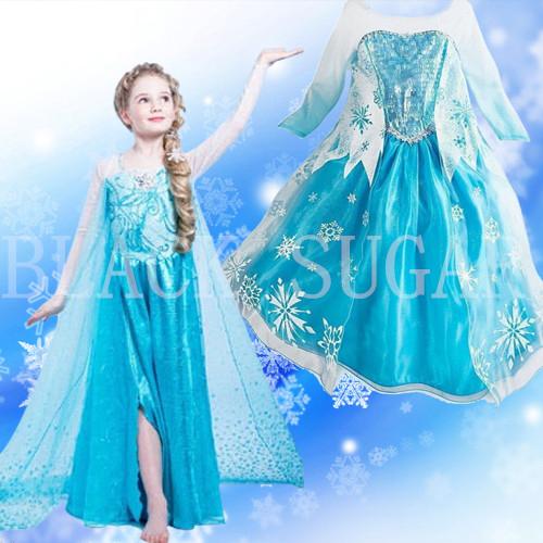 Robe elsa princesse des neiges - Princesse des neiges ...
