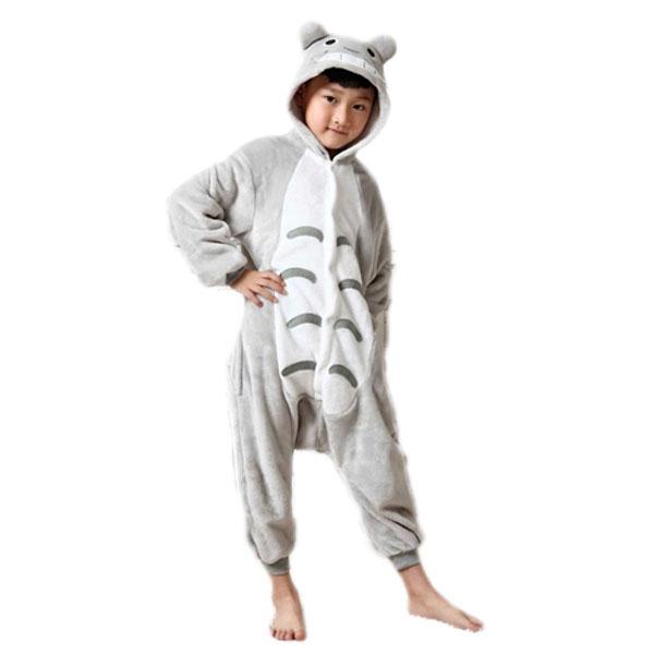 pyjama kigurumi grenouill re pour enfant totoro black. Black Bedroom Furniture Sets. Home Design Ideas