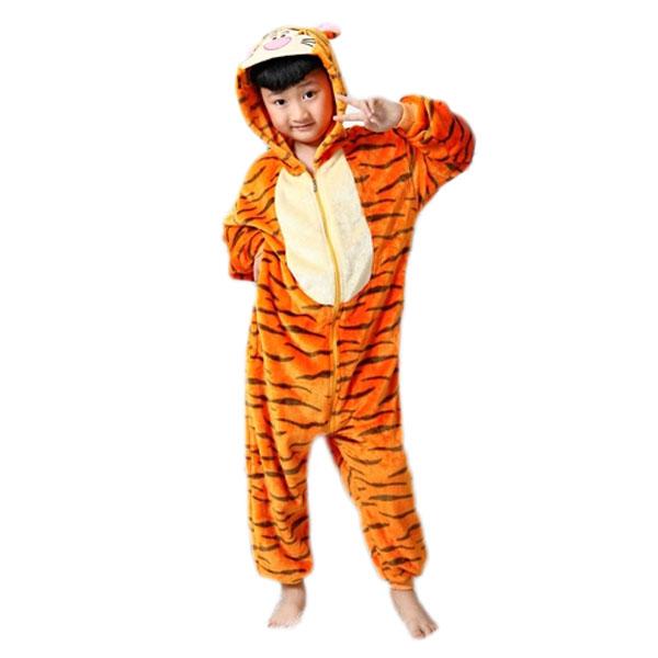 pyjama kigurumi grenouill re enfant tigre black sugar en ligne. Black Bedroom Furniture Sets. Home Design Ideas